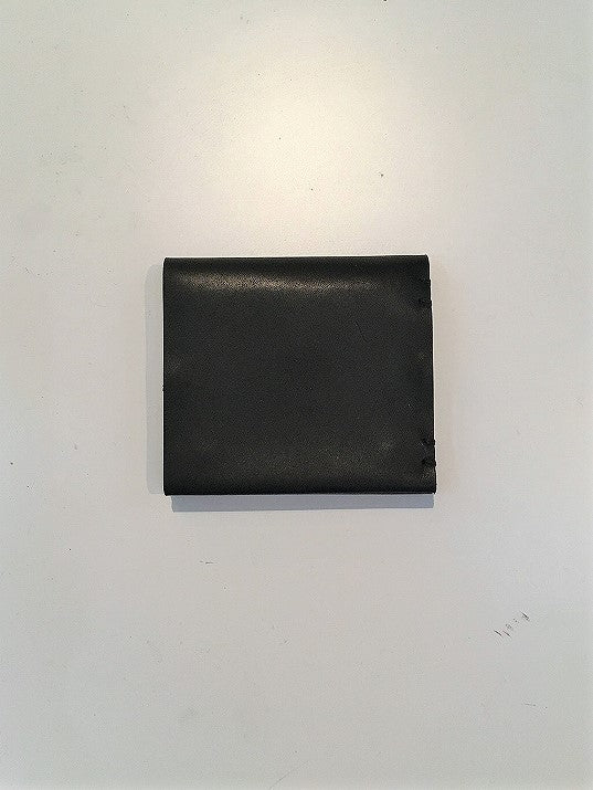 FEIT / HAND SEWN SQUARE BIFOLD / BLACK