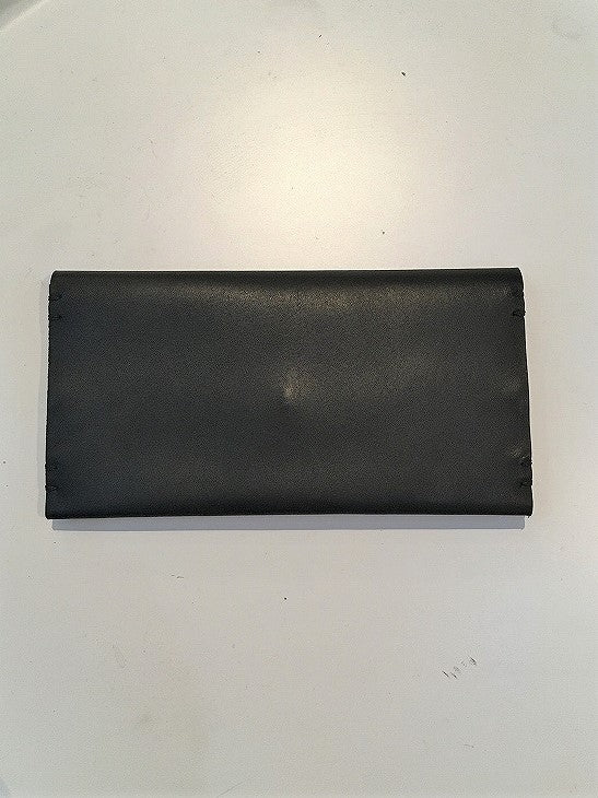 FEIT / HAND SEWN RECTANGLE BIFOLD / BLACK