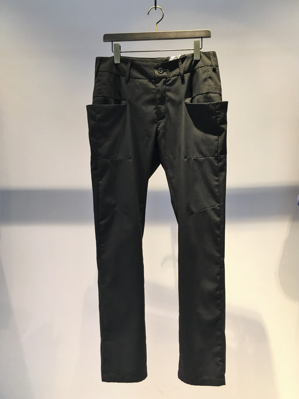 139DEC / POCKET TROUSER / BLACK