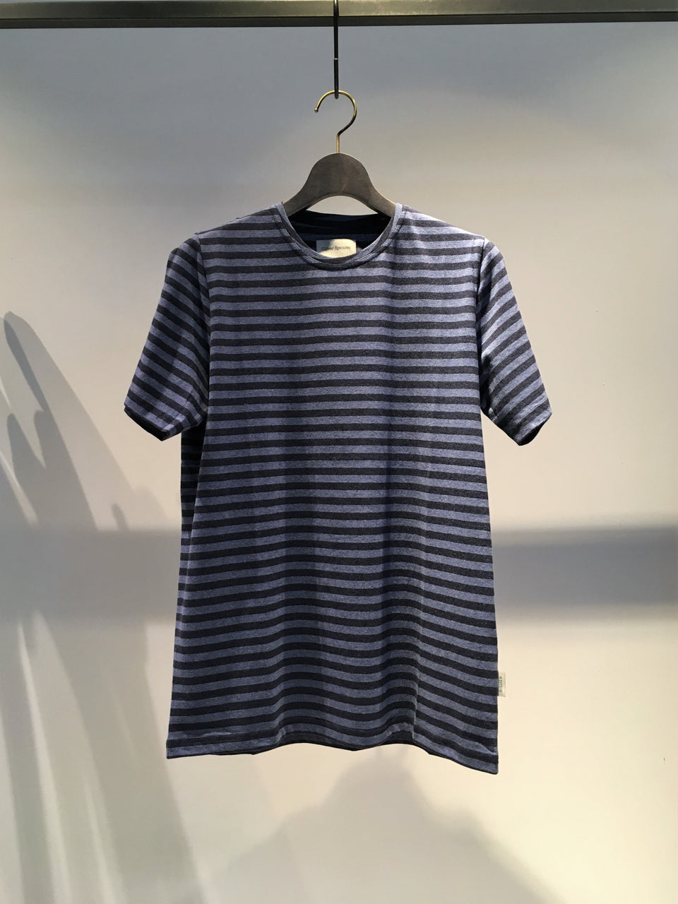 OLIVER SPENCER / CONDUIT TEE / NAVY-SKYBLUE
