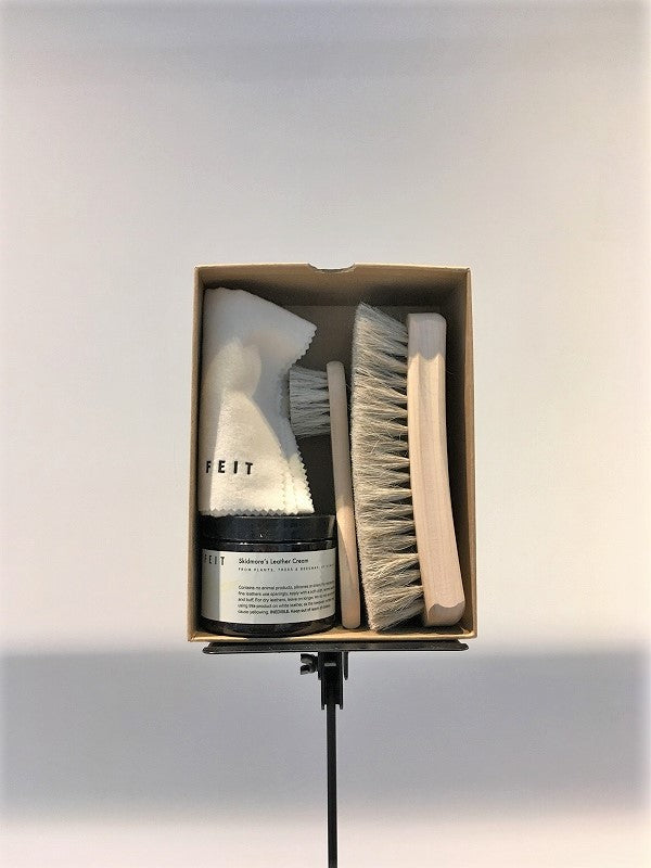 FEIT / LEATHER CARE KIT / NATURAL