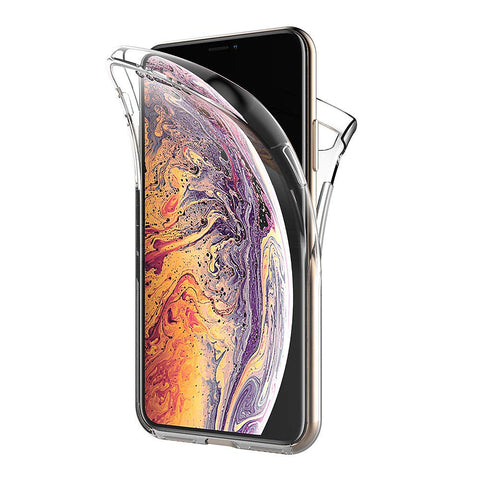Coque intégrale silicone Apple iPhone XS MAX - Phonillico