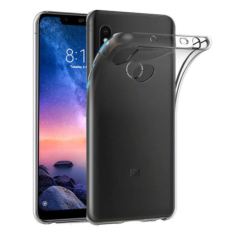 Coque Transparente Xiaomi Redmi Note 6 Pro | Phonillico