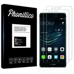 Lot 2 Verres Trempé Huawei P9 PLUS - Phonillico