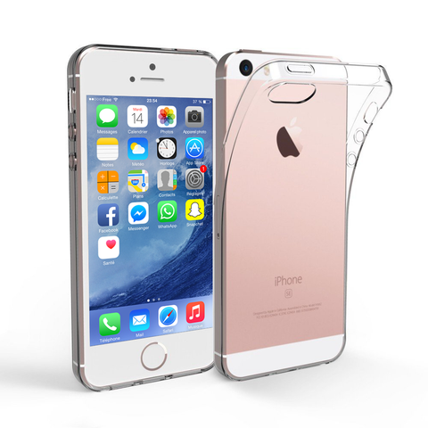 Coque Transparente Apple iPhone 5 | Phonillico