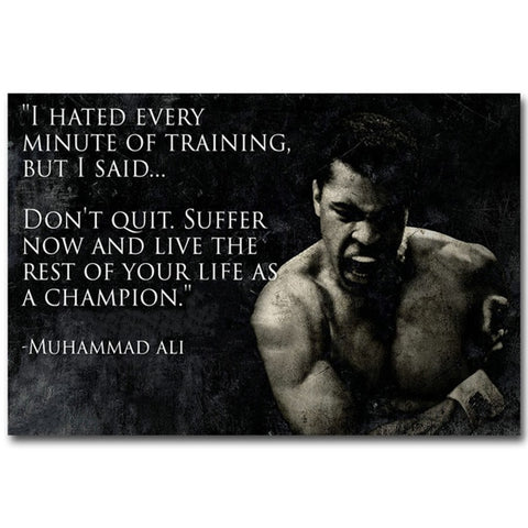 Muhammad Ali - Live As A Champion