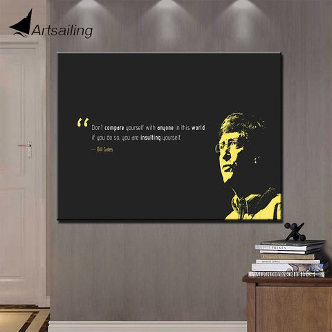 Inspirational Quotes on Canvas
