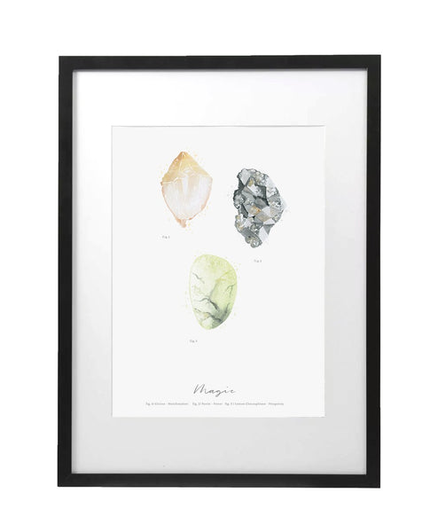 Magic Crystal Art Print