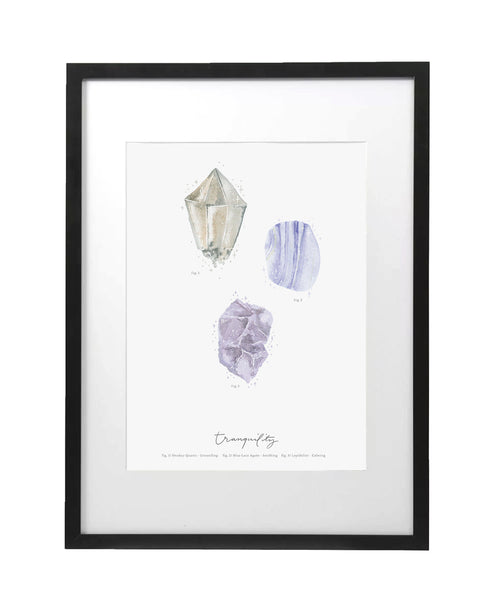 Tranquility Crystal Art Print