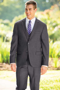 Slim Fit Nested Suit - Dark Grey