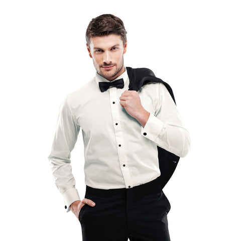 Microfiber - Ivory - Fitted Shirt