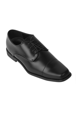 Matte Oxford Dress Shoe - Black