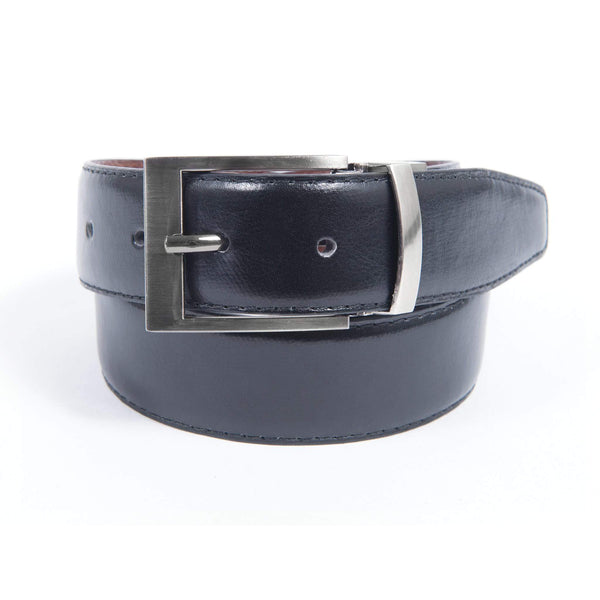 Leather Reversible Belt - Black & Brown
