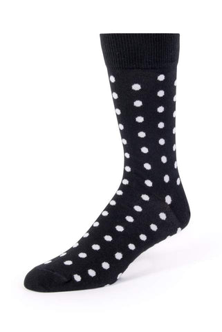 Statement Piece Socks - Black & White