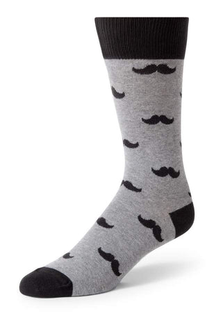 Statement Piece Socks - Mustache