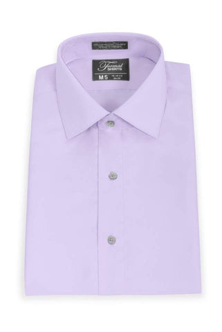 Microfiber - Purple - Traditional Shirt