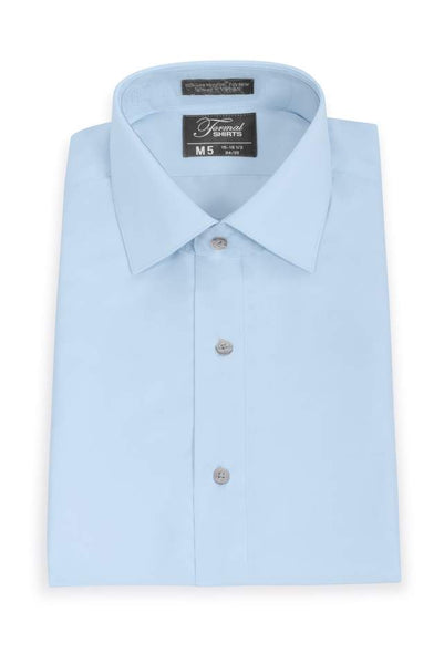 Microfiber - Lt. Blue - Traditional Shirt