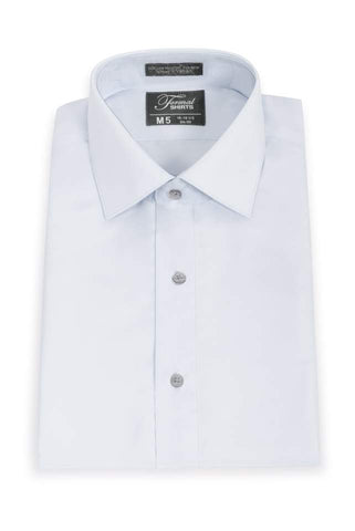 Microfiber - Lt. Grey - Fitted Shirt