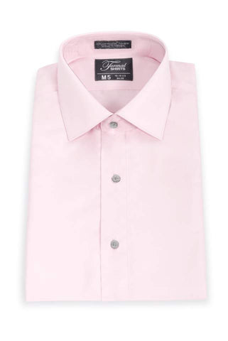 Microfiber - Pink - Traditional Shirt