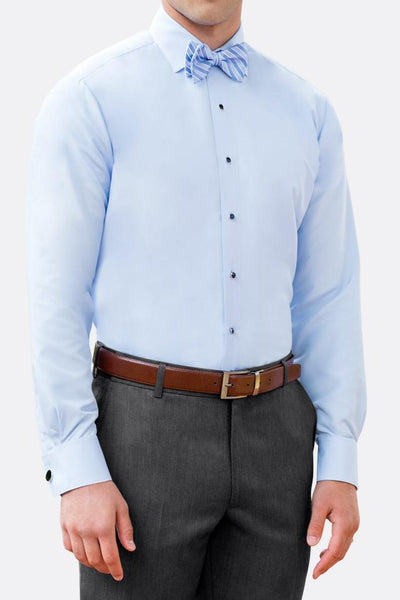 Microfiber - Lt. Blue - Fitted Shirt