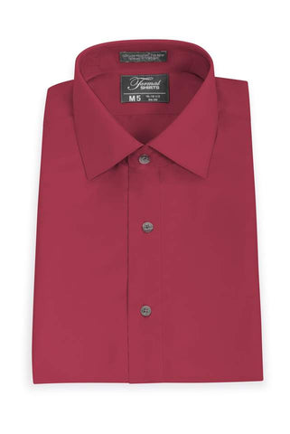 Microfiber - Red - Traditional Shirt