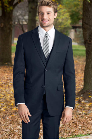 Slim Fit Nested Suit - Navy
