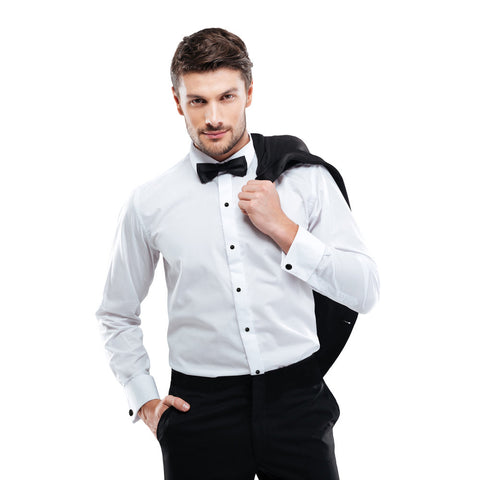 Microfiber - White - Fitted Shirt
