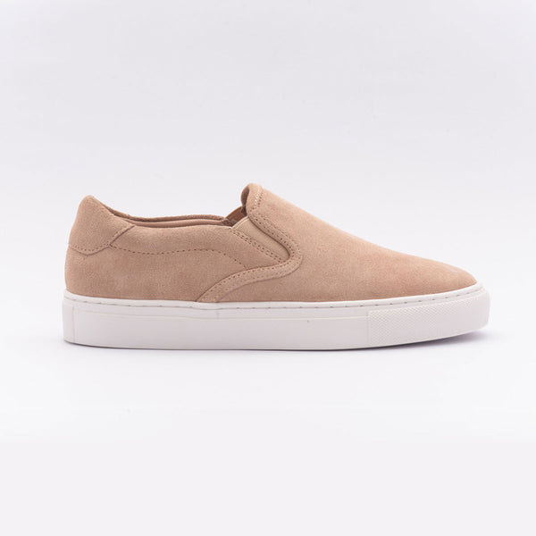 The Slip On in Blush Suede