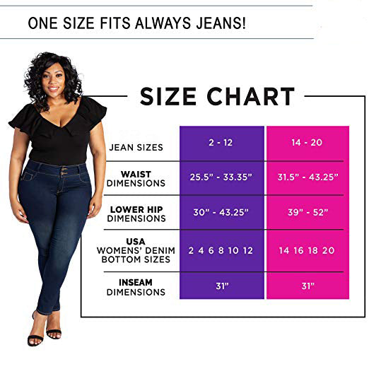 One Size Fits Always Jeans(Buy 2 Get Free Shipping)
