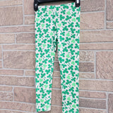 Girls clover leggings