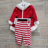 Baby Mrs. Clause suit