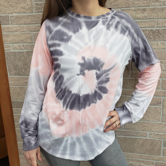 Mountain Valley tie dye top