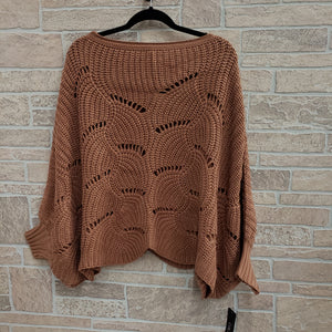 Plus size Talent brant shawl style sweater