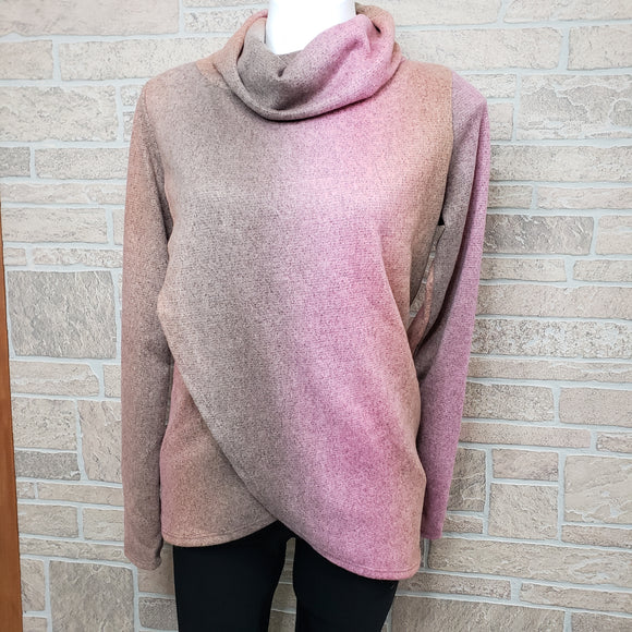 Pink tie-dye sweater by white birch
