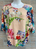New Jamie Gries floral top