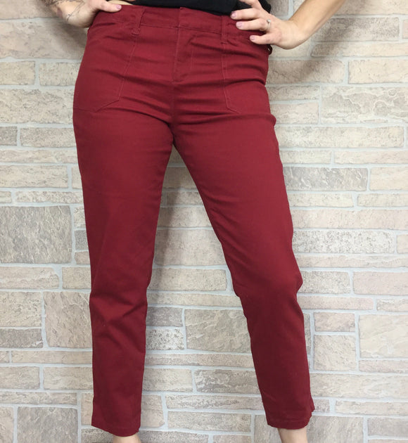 Simply Styled slim ankle stretch trouser