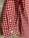 Cat & Jack Boys Red Flannel