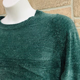 Girls Roebuck & Co. Chenille Sweater