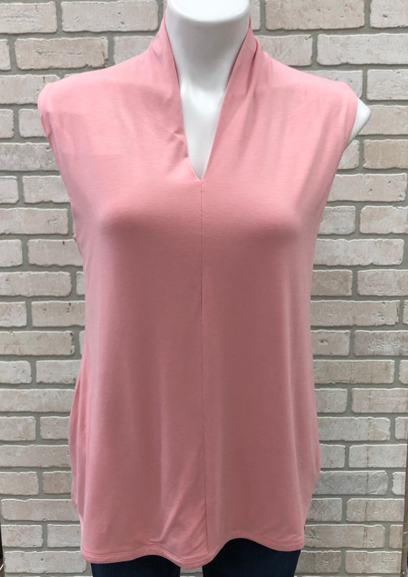 New Modern Soul V-Neck Sleeveless Tunic