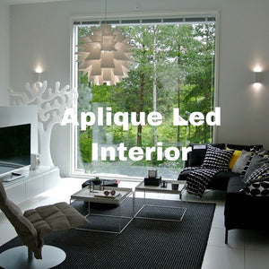 Aplique led para interior