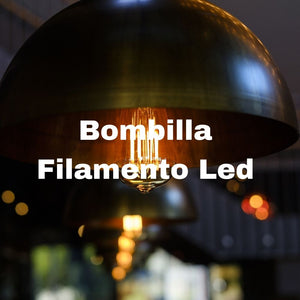 bombillas filamento led