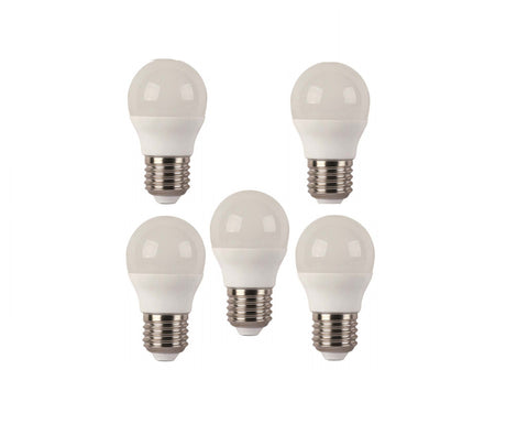 Pack 5 Bombillas Esféricas Led Eco E27.