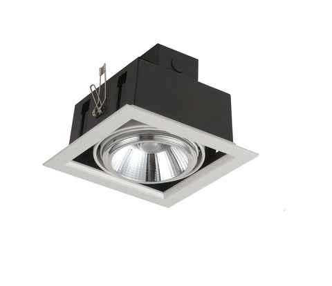 Downlight Empotrable Led Orientable 3000K 20W.