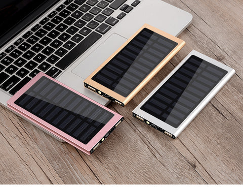 Portable Wireless Lit Solar PowerBank