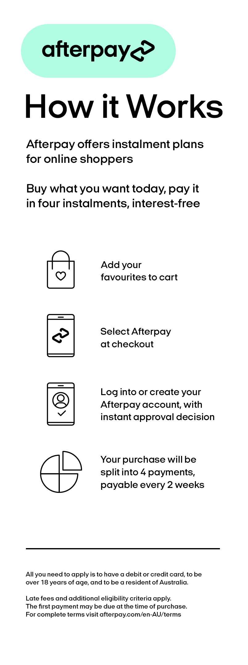 Afterpay Payment