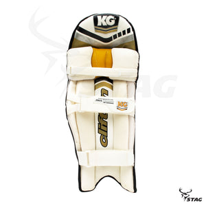 KG Gold Coloured Pads - Black - Stag Sports