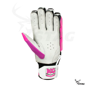 KG Batting Gloves - Select Edition - Black - Stag Sports