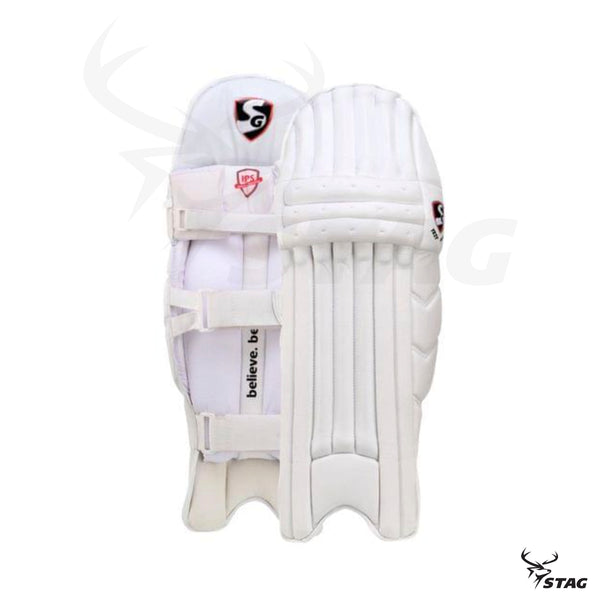 SG Test white batting pads