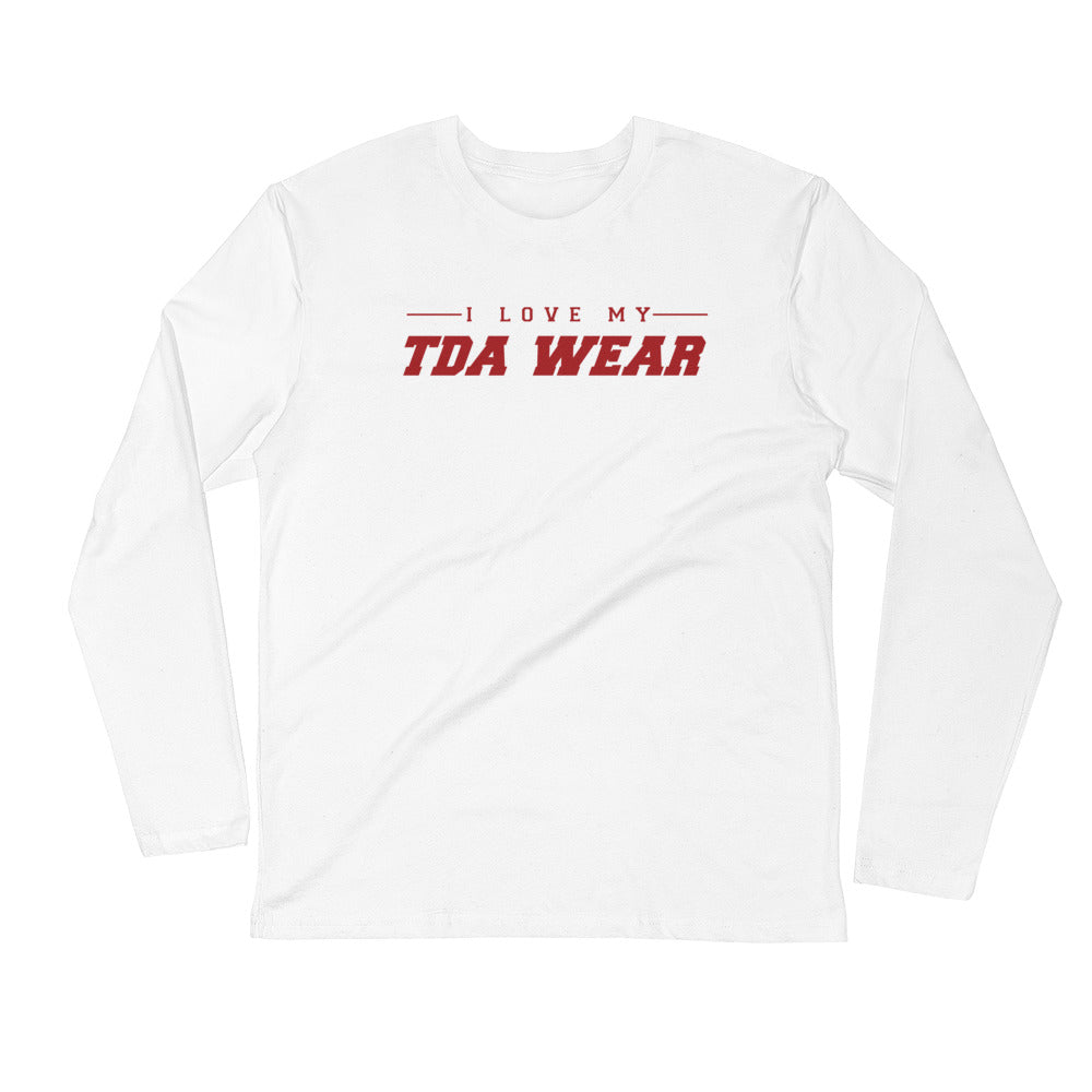 I Love My TDA Wear- (Fitted Shirt)- Long Sleeve