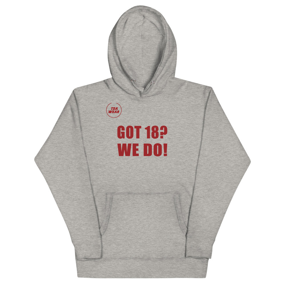 Got 18? We Do! National Championship Hoodie